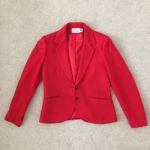 Vintage The Villager Red Blazer